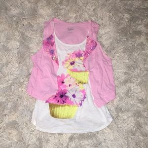 Tank Top With Attached Vest